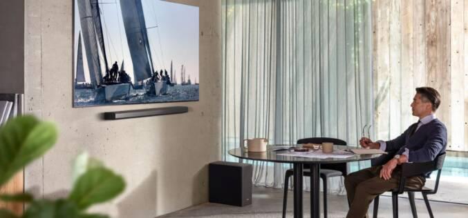 Soundbary Samsung z Dolby Atmos